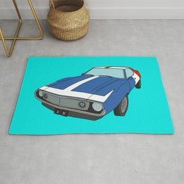 Very Frenchy Classic Car Rug