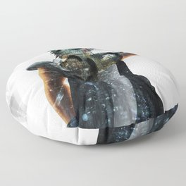 Soldier Hero Floor Pillow