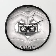 Love 02 Wall Clock