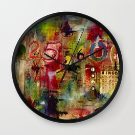 525,600 Minutes Collage Wall Clock