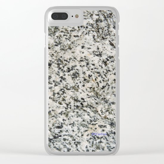 TEXTURES -- Riverstone 3 Clear iPhone Case