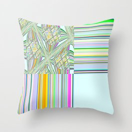 Re-Created Southern Cross V by Robert S. Lee Throw Pillow