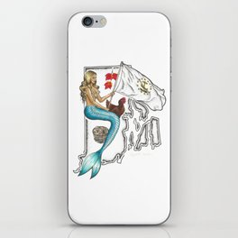 Rhode Island Mermaid iPhone Skin