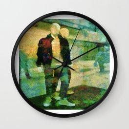 Faceless  Manikin Wall Clock