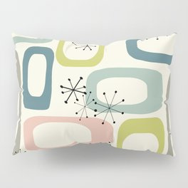 Mid Century Modern Shapes #society6 #buyart Pillow Sham