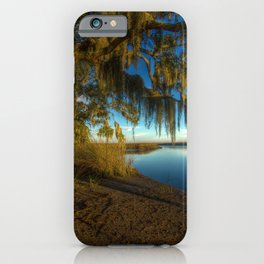 USA Bryan Georgia HDR Nature river Coast Branches Trees HDRI Rivers iPhone Case