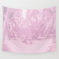 palms Wall Tapestries featuring Palms by Carloe