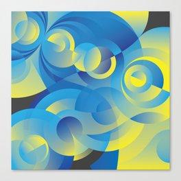 Cosmogony #03 Canvas Print