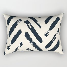 Retro Chevron Pattern 02 Rectangular Pillow