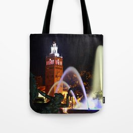 JC Nichols Memorial Fountain Tote Bag