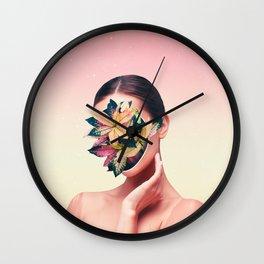 PLANT FACE Wall Clock