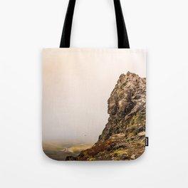 Behind The Clouds Tote Bag