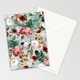 Rpe Seamless Floral Pattern I Stationery Cards