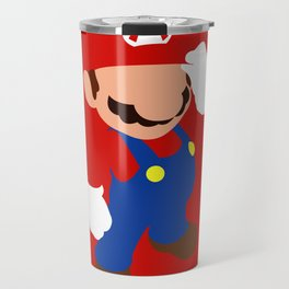 The world famous plumber (Mario) Travel Mug