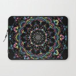 Mandala Transcendental Dream Spiritual Zen Bohemian Hippie Yoga Mantra Meditation Laptop Sleeve