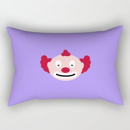 Red-haired clown T-Shirt for all Ages D4u9y Rectangular Pillow