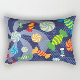 Rainbow Sugar Crush Rectangular Pillow