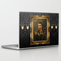 tom selleck Laptop & iPad Skins featuring Tom Selleck - replaceface by replaceface