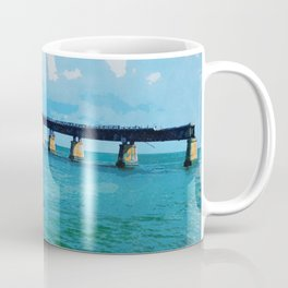 Greetings From The Forida Keys Coffee Mug