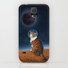 Meowter Space Galaxy S5 Slim Case