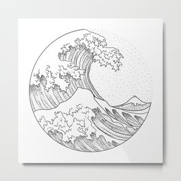 Great Wave Metal Print