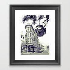 Downtown decoration Framed Art Print