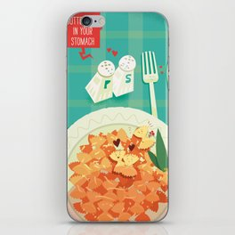 :::Butterflies in your stomach::: iPhone Skin