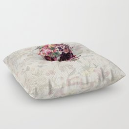 New Skull 2 Floor Pillow