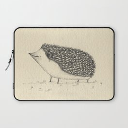 Monochrome Hedgehog Laptop Sleeve
