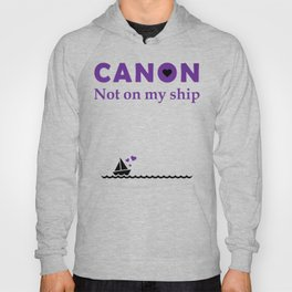 Canon Not on my ship Hoody