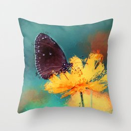 Bytterfly Effect Throw Pillow
