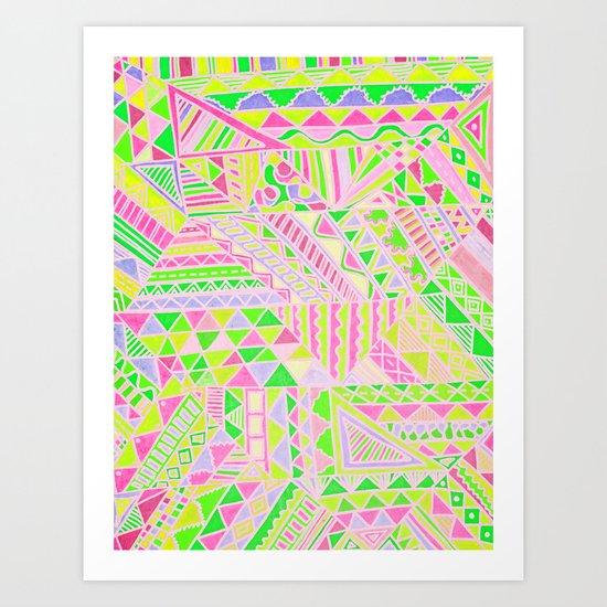 Wild One Four Art Print