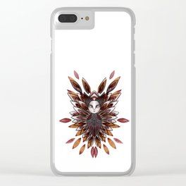 autumn queen Clear iPhone Case