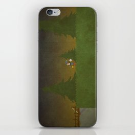 Forest Scene iPhone Skin
