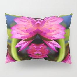 pink lotus Pillow Sham