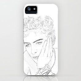 Timothee Chalamet - Elio from CMBYN iPhone Case
