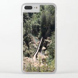 Above the Bridge Clear iPhone Case
