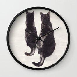 Katzen Wall Clock