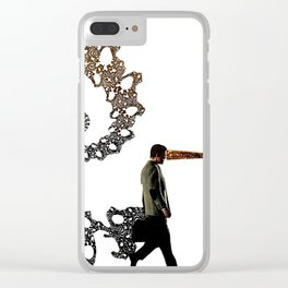 Doing the Same Thing and Expecting a Different Result Clear iPhone Case