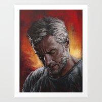 Old Man Logan Art Print