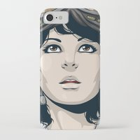 pilot iPhone & iPod Cases featuring Pilot by Kimball Gray