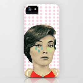 for your information there's an inflammation in my tear gland iPhone Case