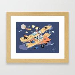 The Flying Night Framed Art Print