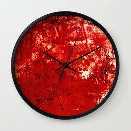 鬼 (Oni) Wall Clock