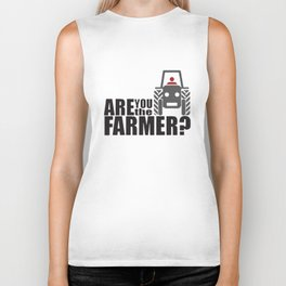 Withnail And I - Are You The Farmer T-Shirts Biker Tank