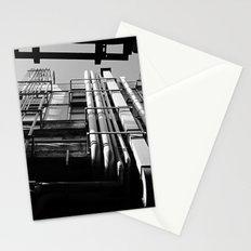 On japanese street Stationery Cards