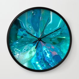 LIQUID SAPPHIRES-2 Wall Clock