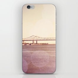 Greater New Orleans Bridge over the Mississippi iPhone Skin