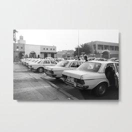 Taxi Metal Print