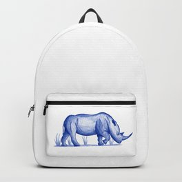 Save The Rhinos (50% of commissions are donated to the World Wildlife Fund) Backpack